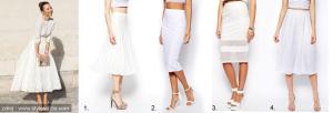 sukně  ASOS móda trend na léto